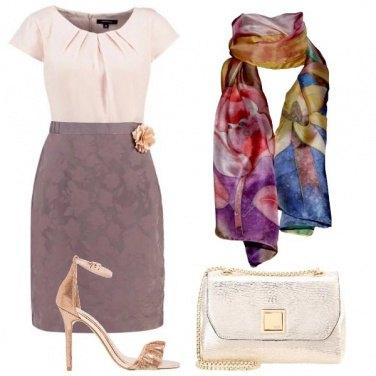 Outfit Chic con i fiori