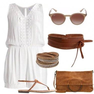Outfit Hippie con stile