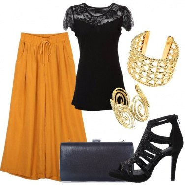 Outfit I pantaloni palazzo