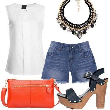 Outfit La pochette arancione