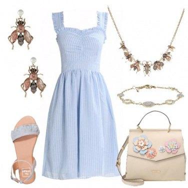Outfit Occhi blu