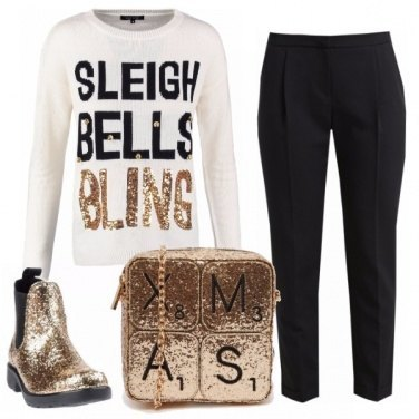Outfit Bling xmas
