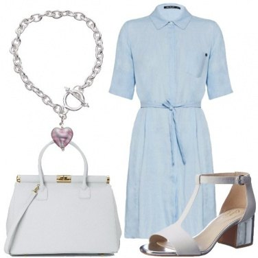 Outfit L\'abito in lino