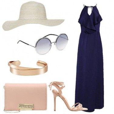 Outfit L\'abito blu