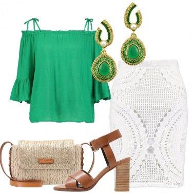 Outfit La minigonna a crochet