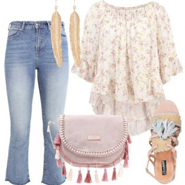 Outfit Jeans folk
