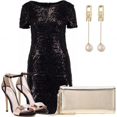 Outfit Festa scintillante
