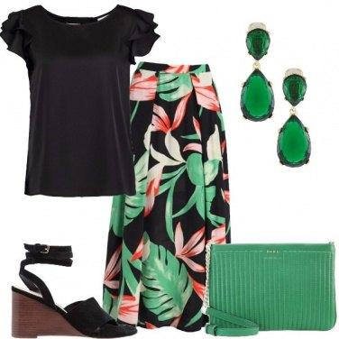 Outfit Fresco verde