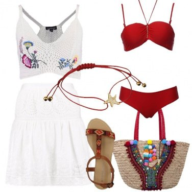 Outfit Una bella giornata al mare
