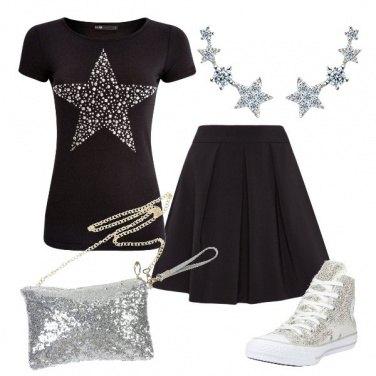 Outfit Brillante tra le stelle