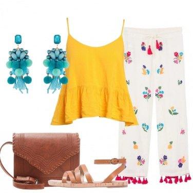 Outfit Un tuffo nei colori