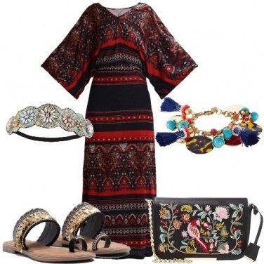 Outfit Il vestito con particolare fantasia