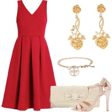 Outfit La donna in rosso