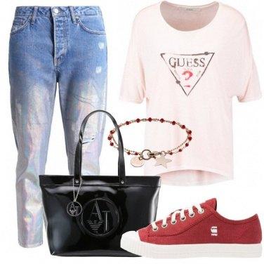 Outfit Maglia ampia