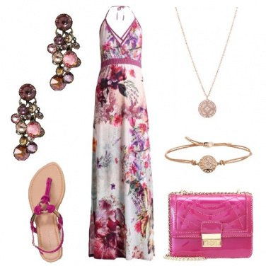 Outfit Maxi dress in saldo