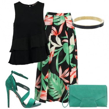Outfit Profumo tropicale