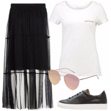 Outfit La gonna alternativa