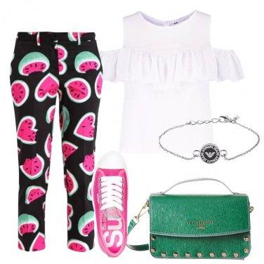 Outfit Allegra e colorata