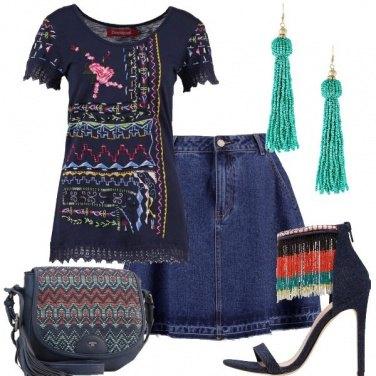 Outfit Perline e ricami