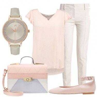 Outfit Evviva i colori pastello