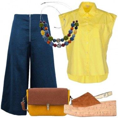 Outfit Zeppa in sughero