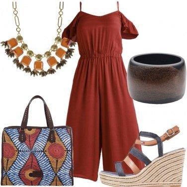 Outfit Un tocco etnico