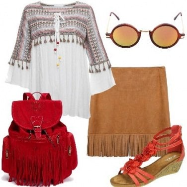Outfit Vacanze hippie