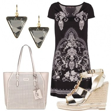 Outfit Comoda con la zeppa