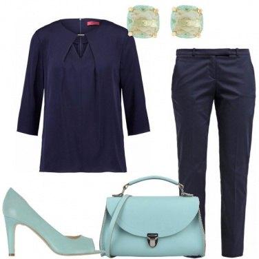 Outfit Sfumature di blu per tutti i giorni