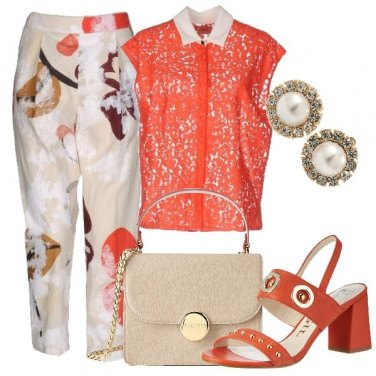 Outfit Colletto bianco