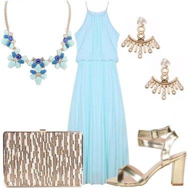 Outfit Sfumature di oro