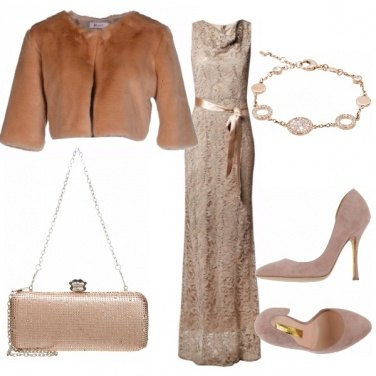 Outfit Nude look