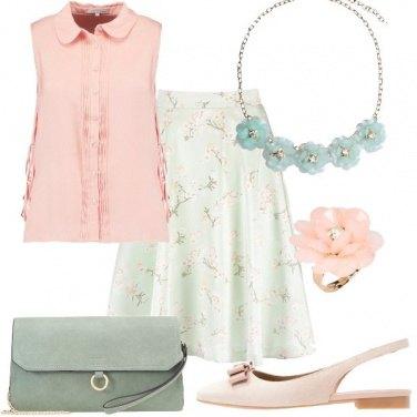 Outfit Pastello bon ton