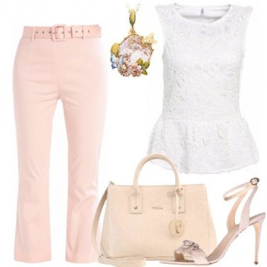 Outfit Delizie in rosa