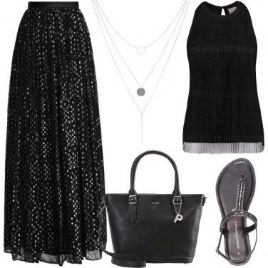 Outfit Nero da mattina a sera