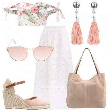 Outfit Ibischi rosa