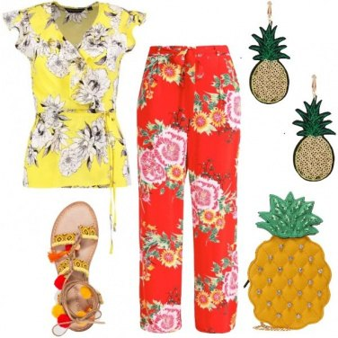 Outfit Succo all\'ananas