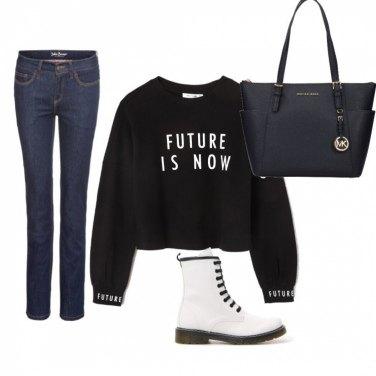 Come abbinare la borsa a spalla con manico blu: 53 Outfit