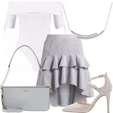 Outfit Essenzialmente grigio