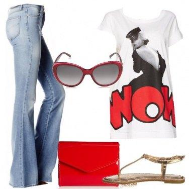Outfit La T shirt che non passa inosservata