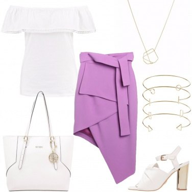 Outfit Gonna geometrica