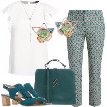 Outfit Bon ton geometrico