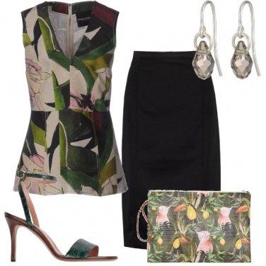 Outfit Ispirazione tropicale