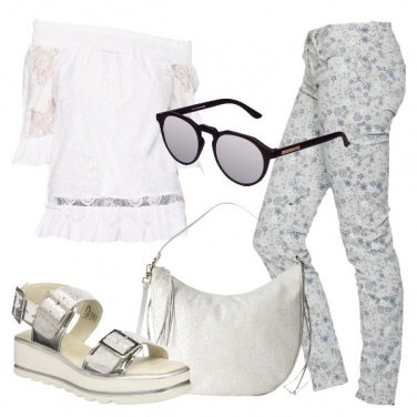 Outfit Uscita in bianco