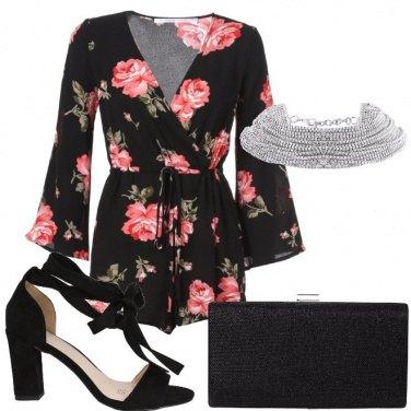 Outfit La playsuit a fiori