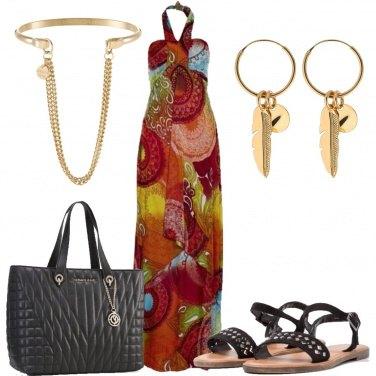 Outfit Il vestito multicolore