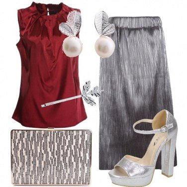 Outfit Adoro l\'argento
