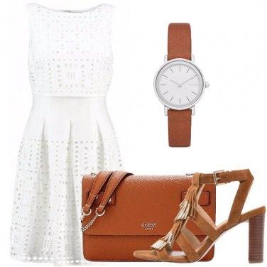 Outfit Un vestito bianco