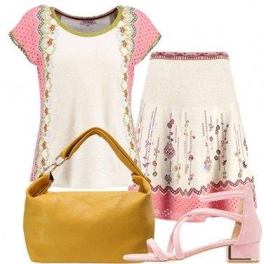 Outfit Romantico bon ton