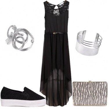 Outfit Slip-on per la sera